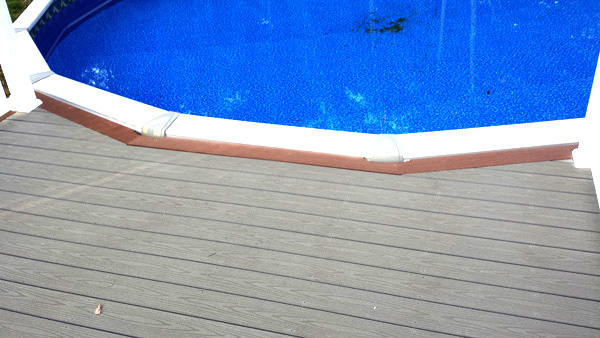 new pool deck we built